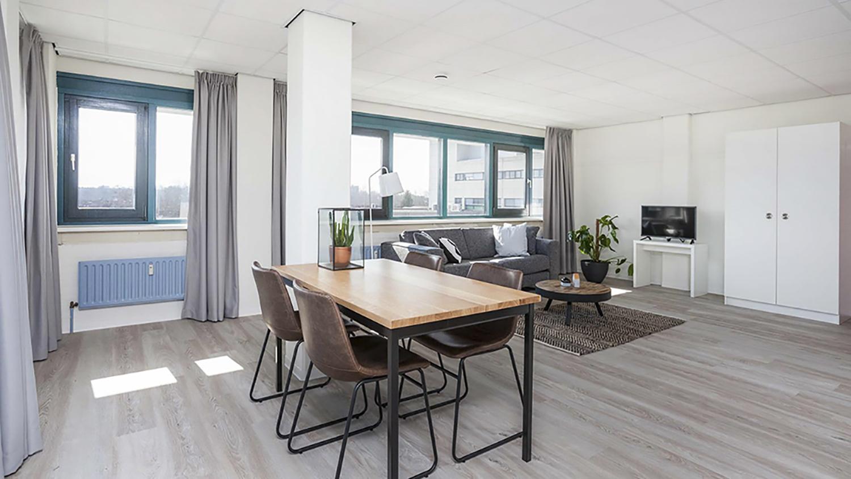 Camelot Leiden woon- slaapkamer 2