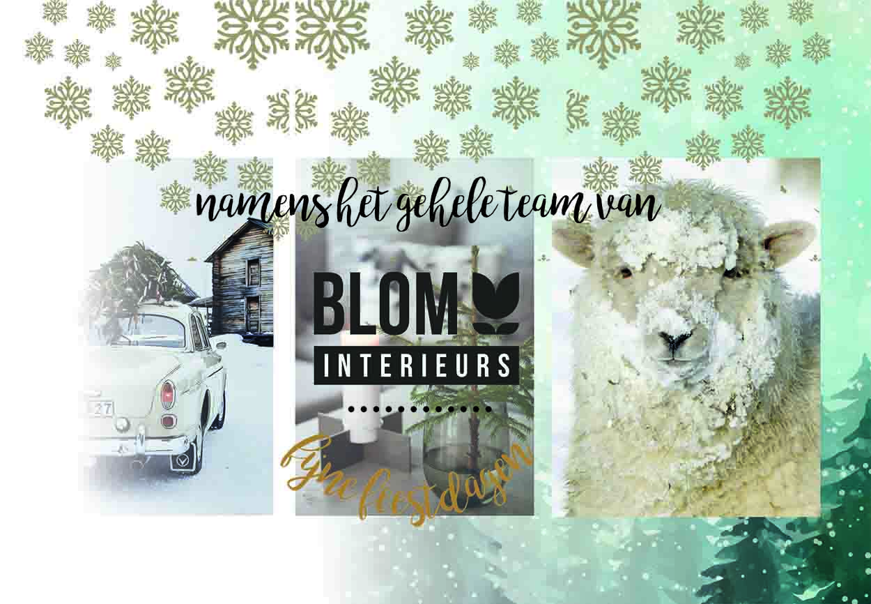 kerstgroet Blom Interieurs