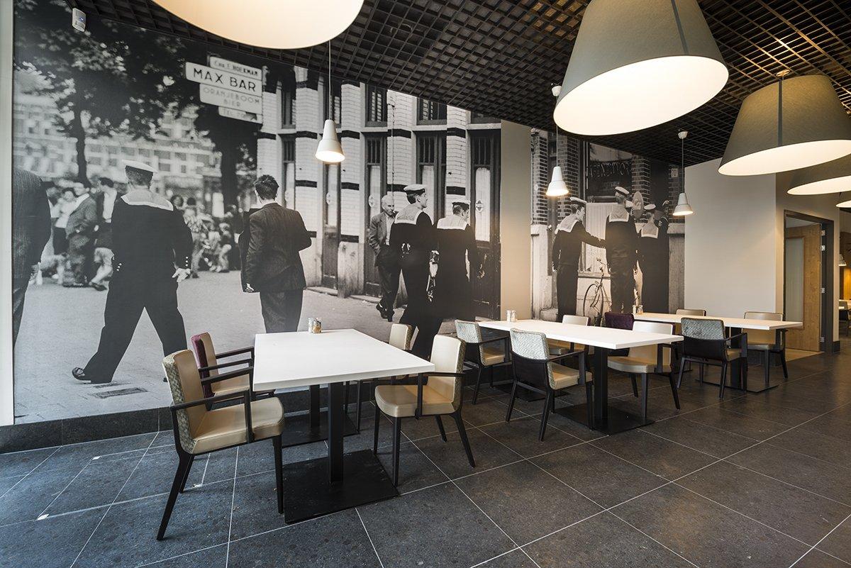Grand-café Laurens, Rotterdam - blominterieurs.nl
