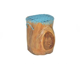 Stool Teak Wood Rope