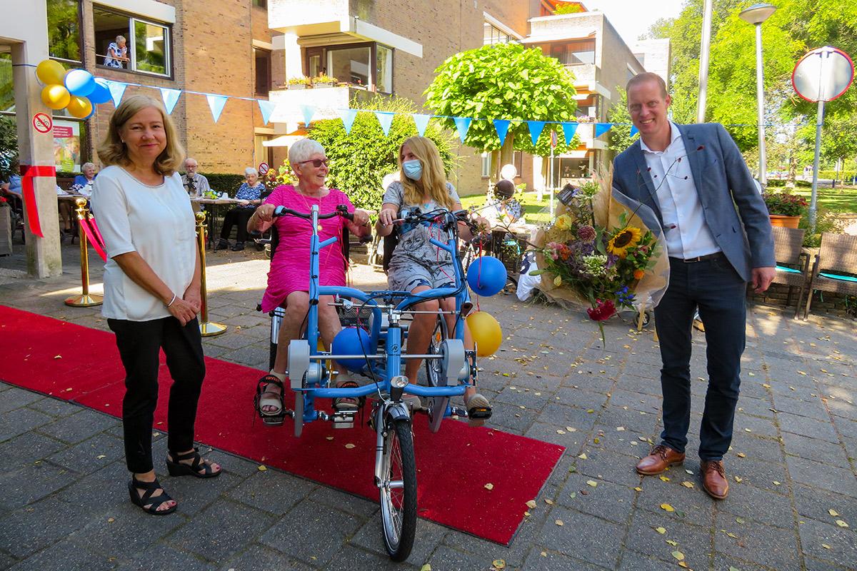 Uitreiking Fun2GO Duo fiets