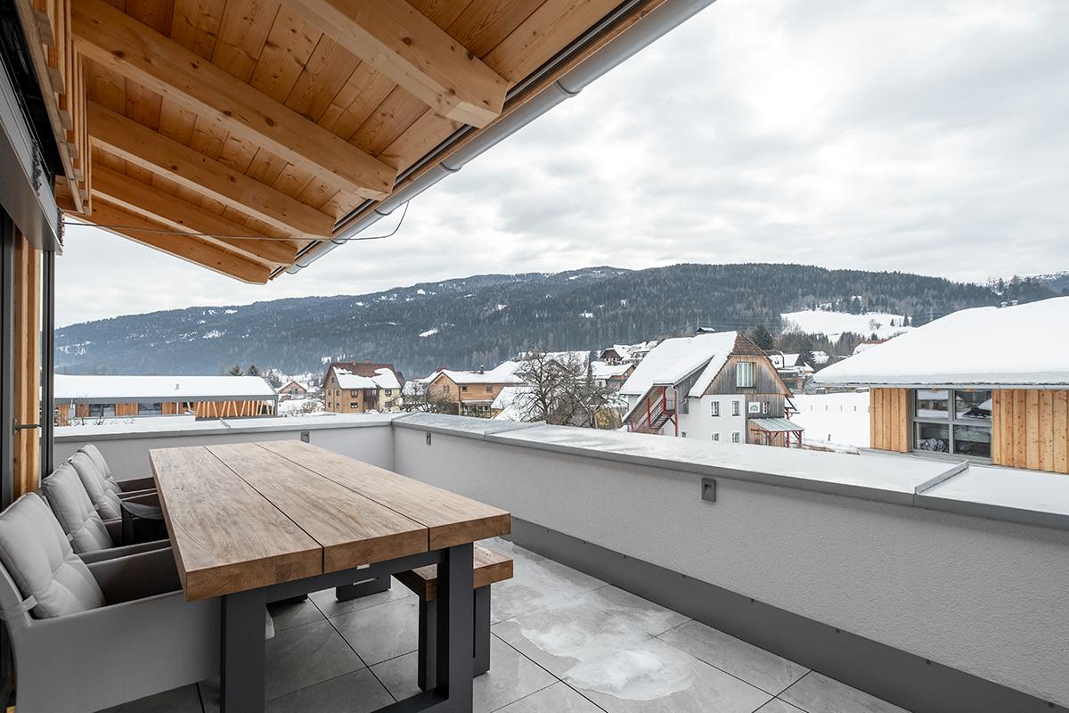 Inrichting recreatiewoning, penthouse Kreischberg