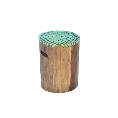 Stool Teak Wood Rope