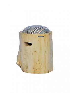 Stool Teak Wood Cushion